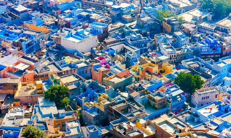 Jodhpur, the Blue City of Rajasthan, India, Asia Stock Photo