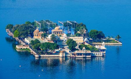 Jag Mandir Palace, Lake Pichola, Udaipur, Rajasthan, India, Asia Stock Photo