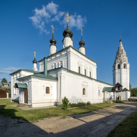 Alexander Monastery in Suzdal, located on the left bank of the Kamenka River and According to legend, was founded in 1240 by Alexander Nevsky. Suzdal, Vladimir Region, Russia