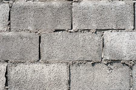 ugly concrete block wall photo
