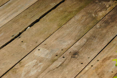 planking: old wood plank