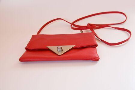 ladys: stylish red  ladys purse