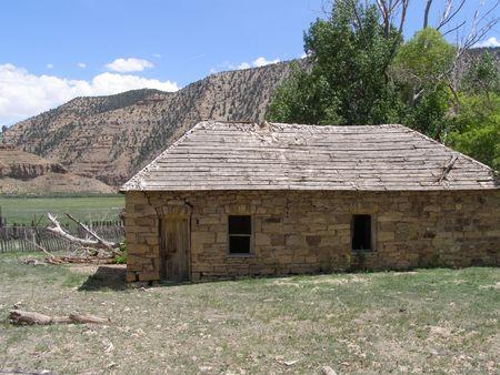 pioneer stone house,Utah