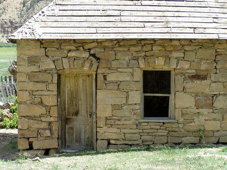 pioneer: pioneer stone house,Utah