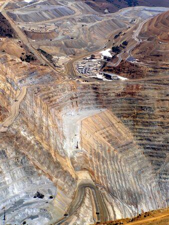 Kennecott copper mine,Utah       Banco de Imagens