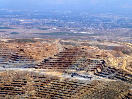Kennecott copper mine,Utah