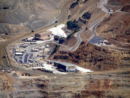 Kennoctt copper mine, Utah      Banco de Imagens