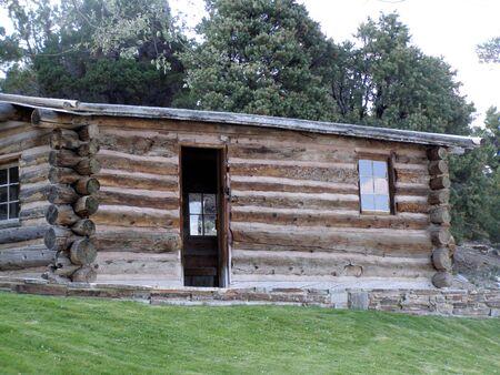 Rhodes pioneer cabin,Great Basin National Park