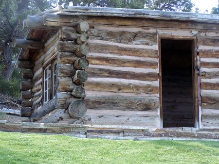 Rhodes pioneer cabin,Great Basin National Park Banco de Imagens - 1066320