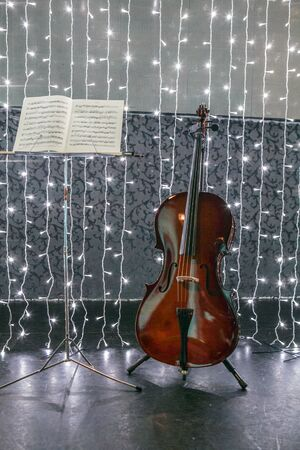 cellos: lone cello