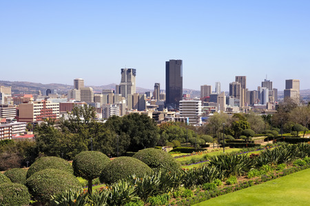 and south: City of Pretoria Skyline, South Africa