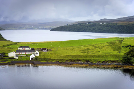 feature films: Isle of Skye scenery, Scotland - Skye is the largest and most northerly large island in the Inner Hebrides. Skye has provided the locations for feature films and is celebrated in poetry and song.