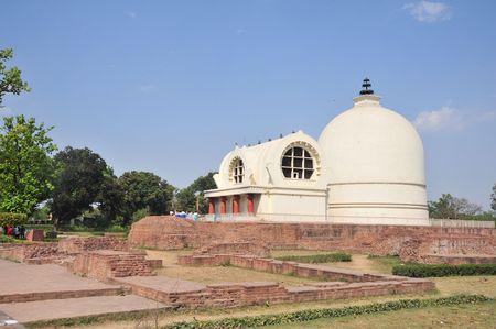 Stupa of Lord Buddha. photo