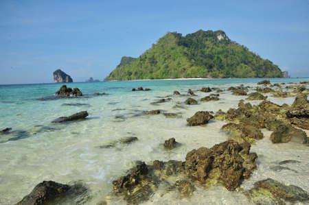 Tup Island.krabi, South of Thailand photo