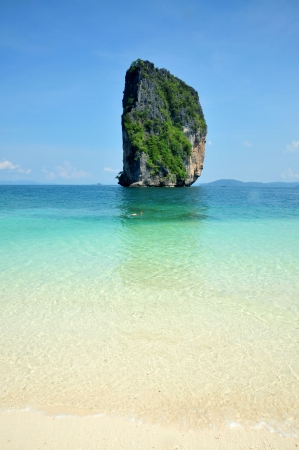 Poda Island.krabi, South of Thailand photo