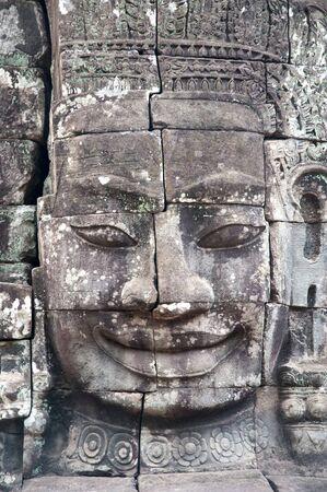 Cambodia Siem Reap Angkor Wat Bayon Temples and Statues Stock Photo - 7235957