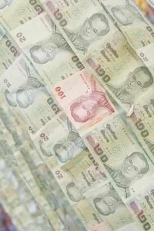 money background / money stack / thai bath Stock Photo - 8622675