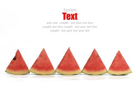 Ripe watermelon background photo