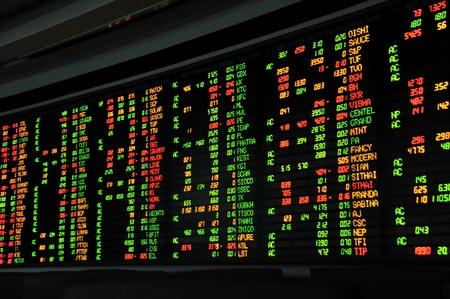 bolsa de valores: Visualizaci�n de cotizaciones del mercado de valores