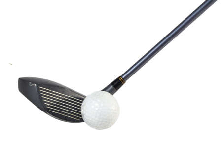 lose up: lose up of golf ball  Stock Photo