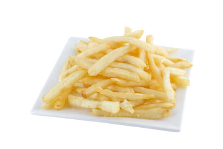 French Fries in Fast Food container  photo