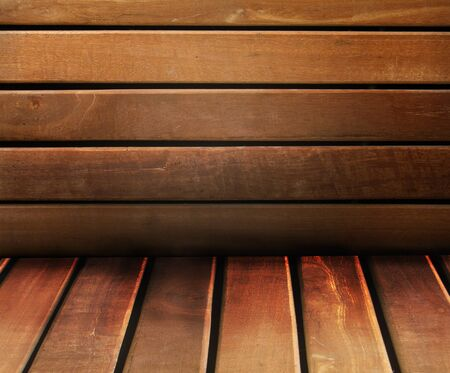 old wooden interior, is empty for your design Stock Photo - 8765310