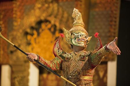 Portrait of Khon Stock Photo - 8765315