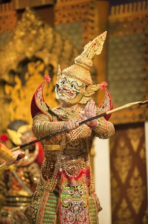 Porträt von Khon  Standard-Bild - 8765316
