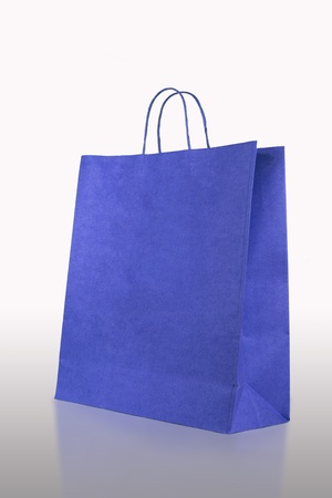 fashion Crumpled paper bag  photo