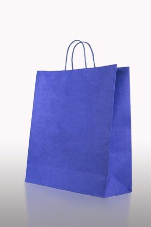 fashion Crumpled paper bag  photo