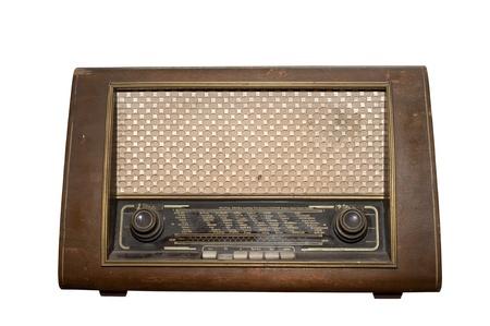 昔ながらのビンテージ ・ ラジオ 写真素材