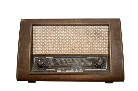 Vintage fashioned radio  photo