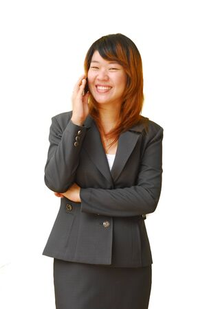 Beautiful woman calling by phone Stock Photo - 9083031
