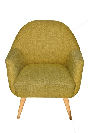 Image of a chair on white  photo