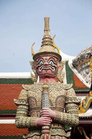 Wat Phra Kaew temple  photo