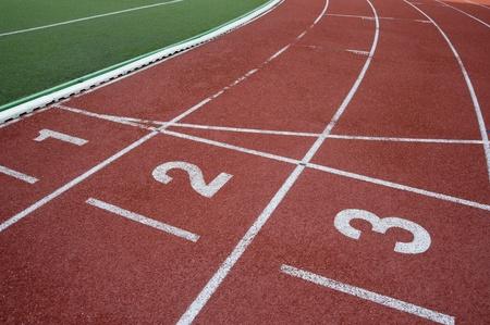 Laufbahn für Sportler  Standard-Bild - 9601799