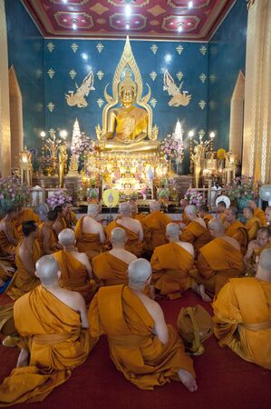 monks in the temple-asia, photo