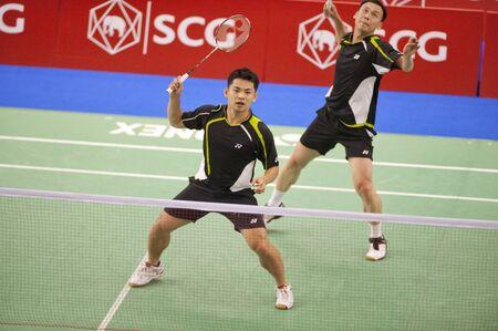Badminton : SCG Thailand Open Grand Prix Gold 2011  Stock Photo - 9889816