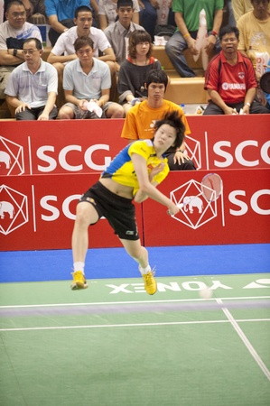 Badminton : SCG Thailand Open Grand Prix Gold 2011  Stock Photo - 9889826