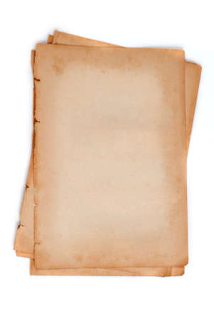 old paper or book Stock Photo