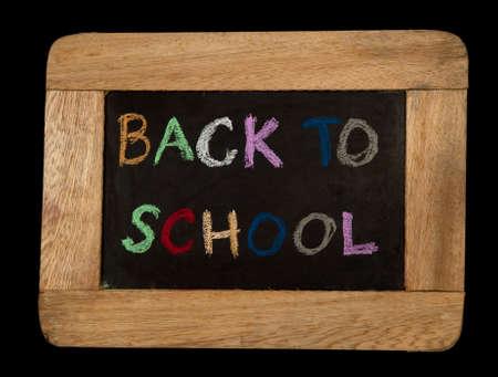 back to school on board. photo