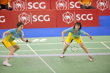 SCG Thailand Open Grand Prix Gold 2011  Stock Photo - 9916112