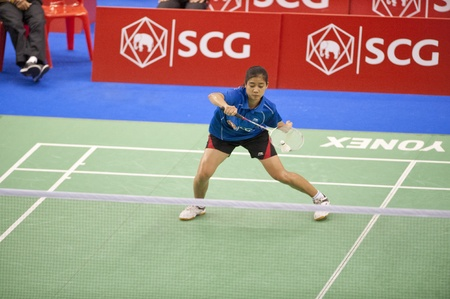 SCG Thailand Open Grand Prix Gold 2011  Stock Photo - 9916076