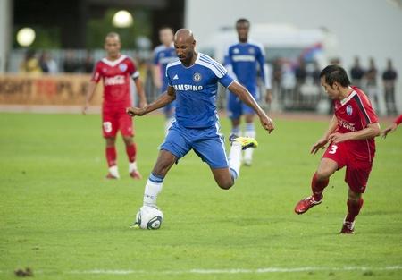 BANGKOK - JULY 24 : Coke Super Cup :Chelsea Asia Tour 2011 Thailand .Rajamangla Stadium ,July 24, 2011 in Bangkok, Thailand. Stock Photo - 10008079