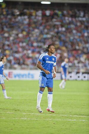 BANGKOK - JULY 24 : Coke Super Cup :Chelsea Asia Tour 2011 Thailand .Rajamangla Stadium ,July 24, 2011 in Bangkok, Thailand.  Stock Photo - 10008884
