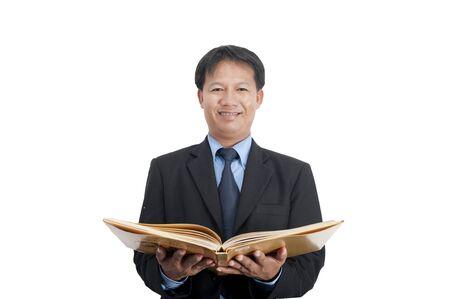 Businessman Isolated on white background. Stock Photo - 10472901