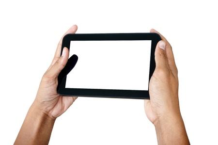 Smartphone in hand Stock Photo - 10677814