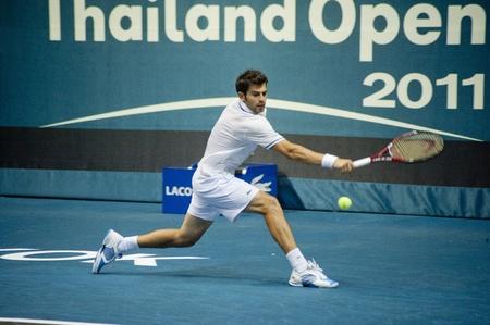 BANGKOK THAILAND- SEPTEMBER 24 : PTT Thailand Open 2011 ( ATP ) on September 24, 2011 at Impact Arena Muang Thong Thani Bangkok Thailand