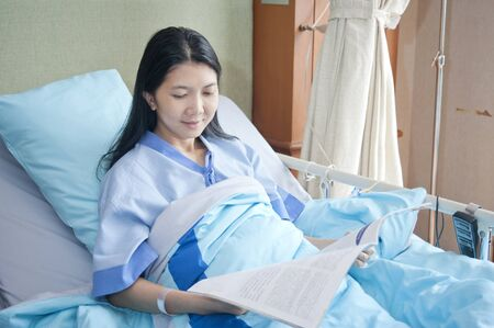 patient in hospital Stock Photo - 10943950
