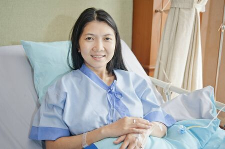 patient in hospital  photo